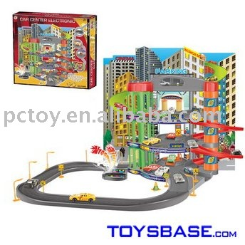 Rail Parking Lot with 2 Alloy cars(IC music)