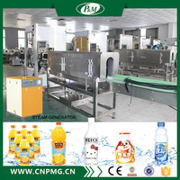 Automatic heat tunnel shrink wrap machine