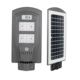 Custom 1200LM Lighting Control Garden Abs Solar Street Light With Sensor
