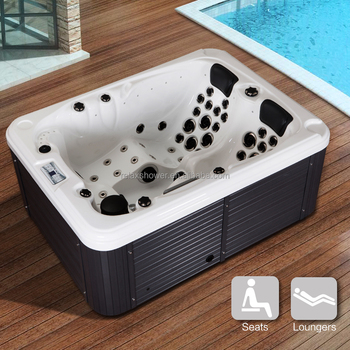 Hot sale acrylic whirlpool massage portable outdoor spa for Whirlpool tubs on sale
