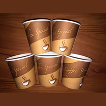 biodegradable pla printed coffee paper cups biodegradable tableware