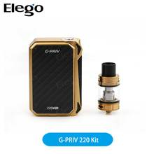 2017 New product Smok G-PRIV KIT stand out SMOK G-PRIV 220 With TFV8 Big Baby Starter Kit with fast shipping