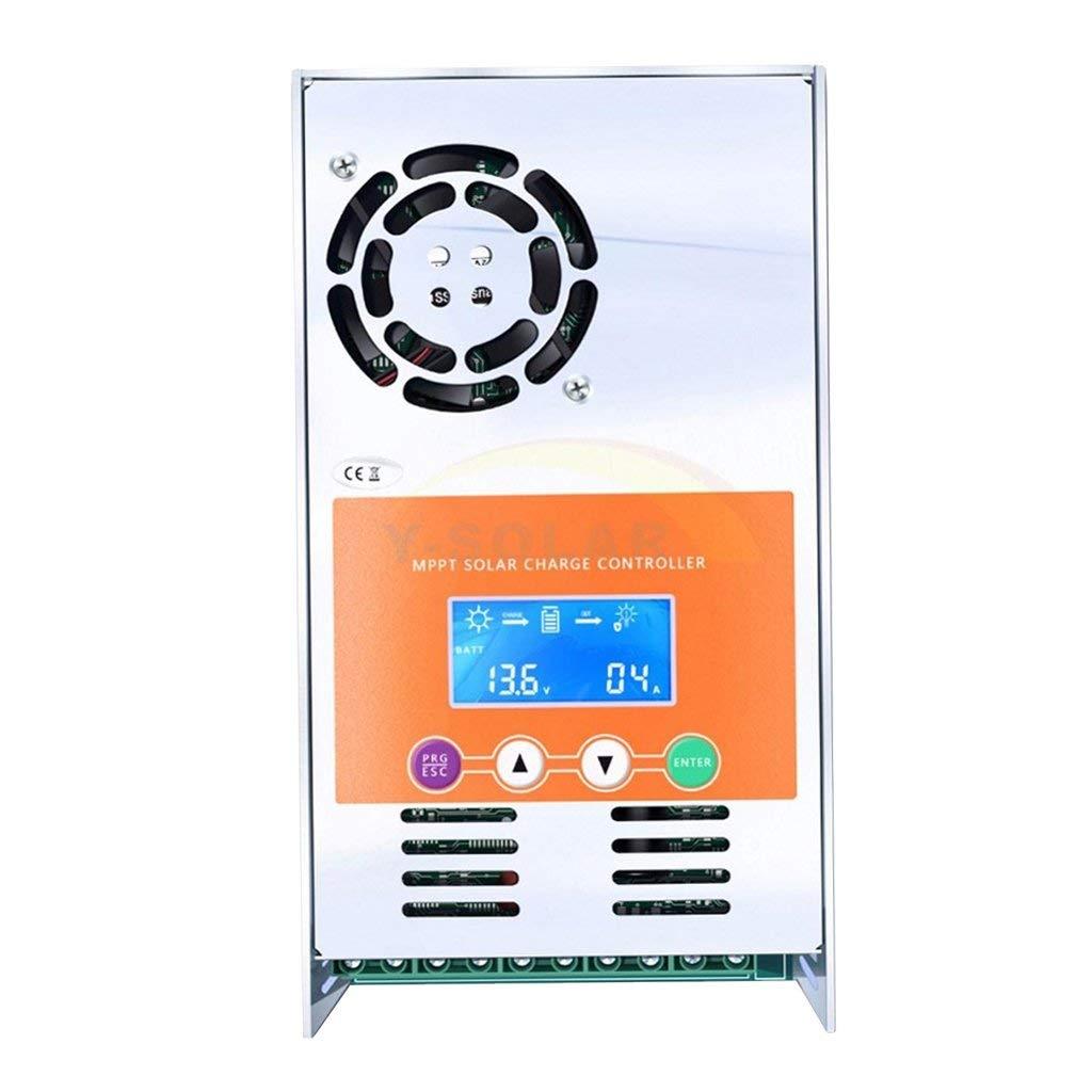 Blesiya LCD Display Solar Charger Regulator MPPT Charge Controller 12V/24V/36V/48V - As picture show, 30A