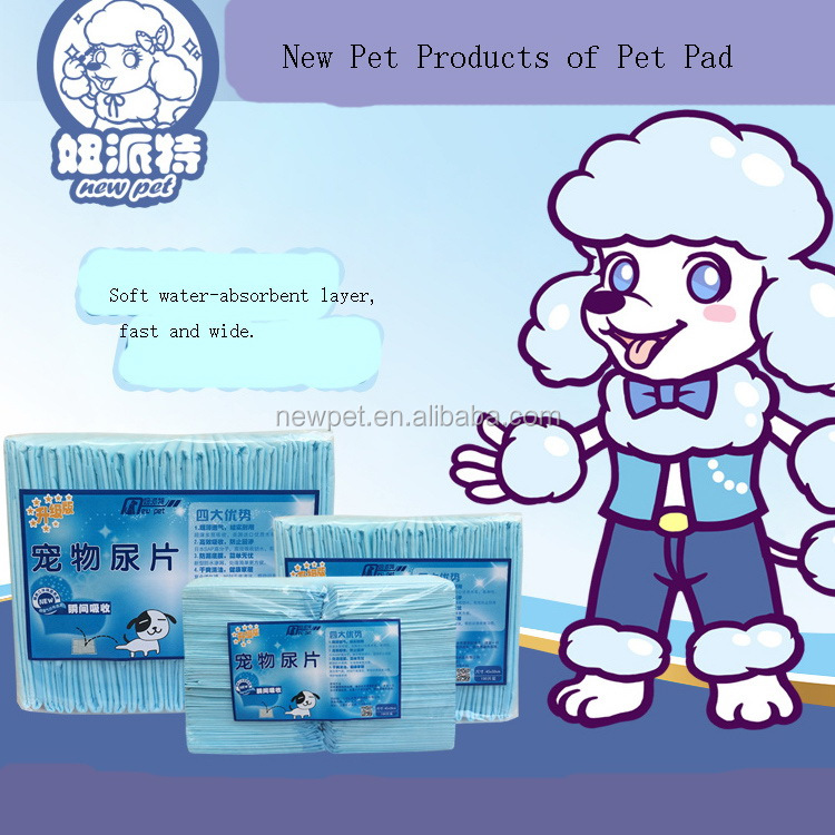 Custom wholesale best selling puppy training pads dog pee pet pad for home training