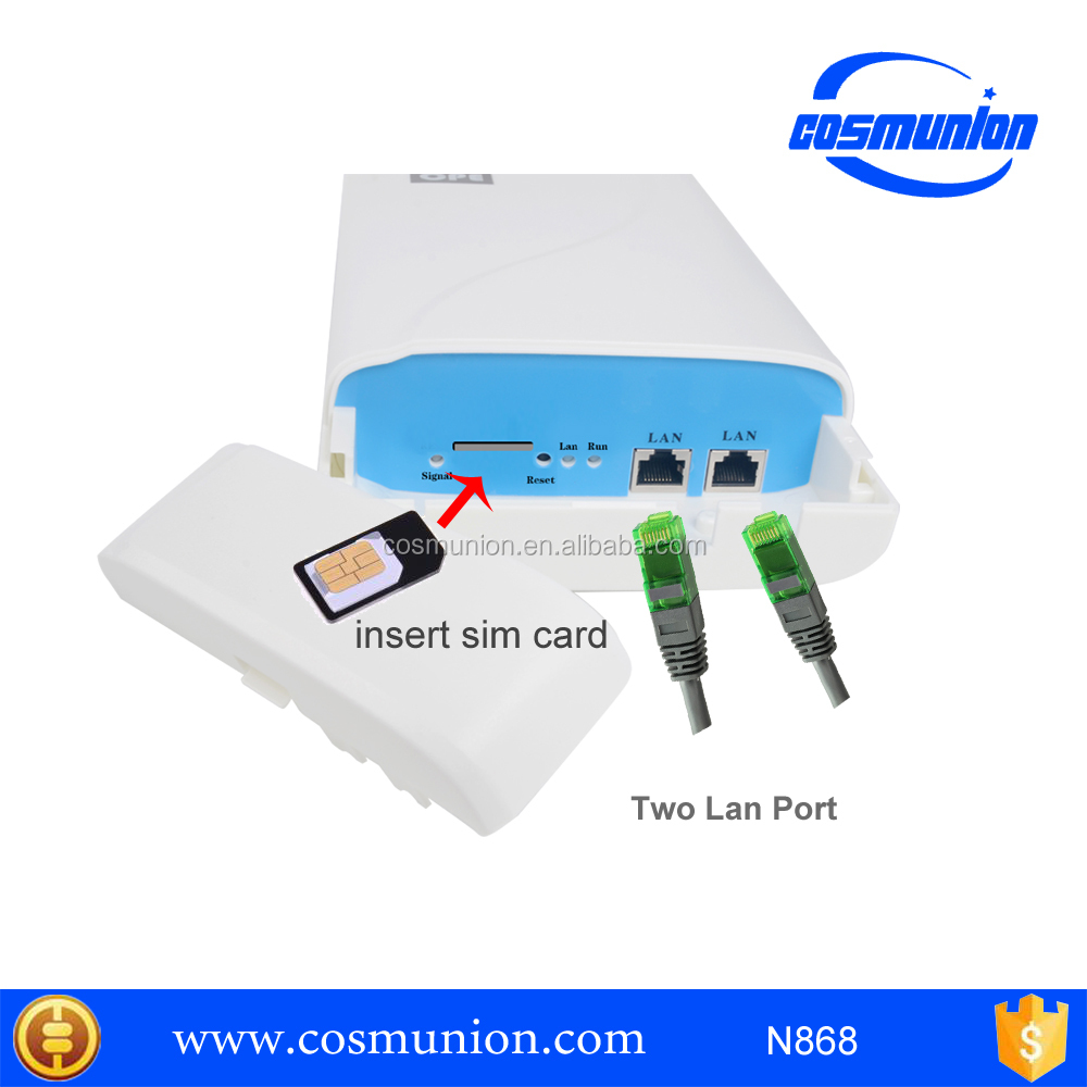 wireless outdoor cpe Router with PCIE express Mini Card