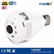 HD CMOS LED light bulb Security Indoor cam spy for home