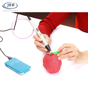 JER new slim design 3 d printer kids 3d drawing pen for gift