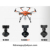 Professional original uav Yuneec H520 big rc helicopter large drones 3D Mapping industrial drone