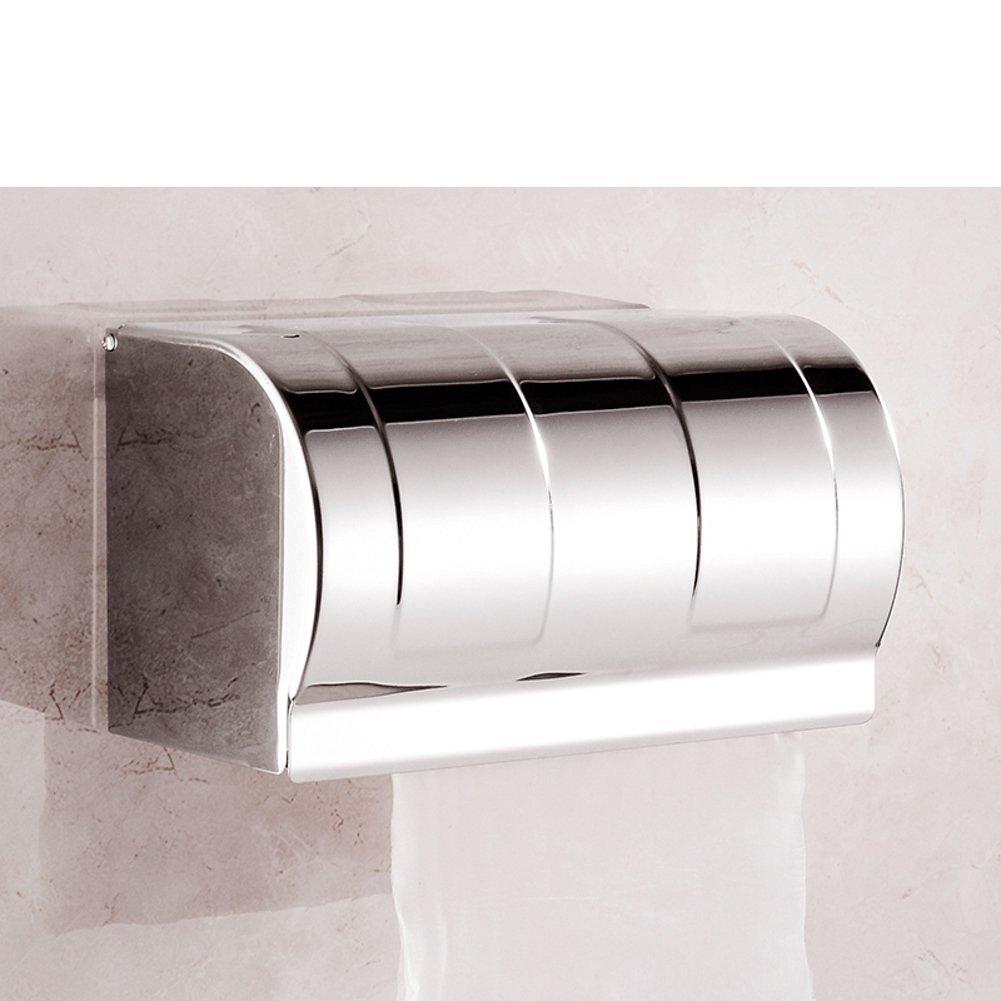 Stainless steel toilet tissue box/ toilet tissue paper holder/Box/Waterproof toilet paper box/ toilet roll holder-O