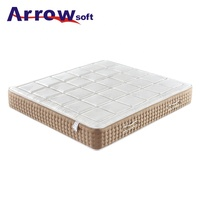 Arrowsoft multi-layers memory foam pocket spring mattress