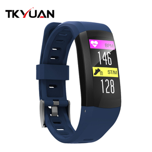 Image of GPS Smart Bracelet Waterproof Pedometer Sport Wristband Heart Rate Sleep Monitor Activity Fitness Tracker Smart Band