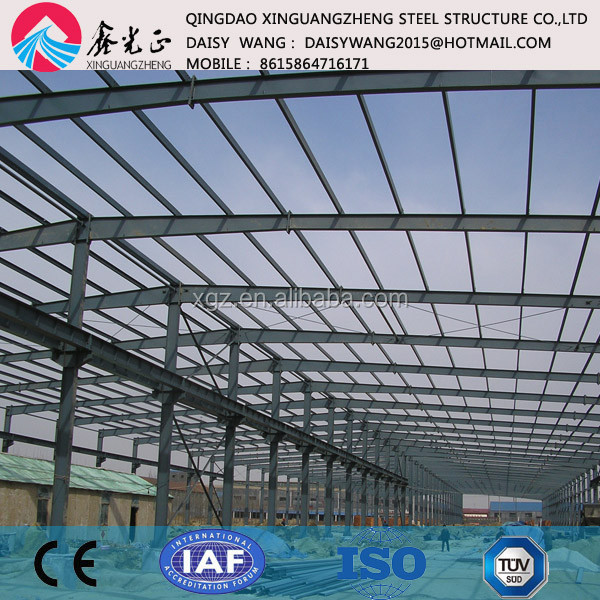 pre engineered panel steel building hangar