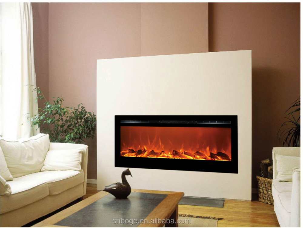 Allen Electric Fireplace Heater Decor Flame Electric Fireplace