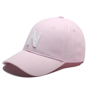 Wholesale embroidery patch custom nice pink ball baseball cap