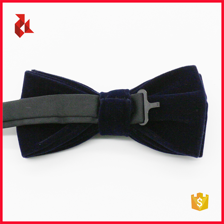 Good Quality Fashion Mens Grey Velvet Bowties
