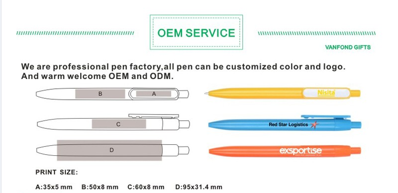 USB Promotional Advertising Custom metal plastic ball point ball-point pen drive