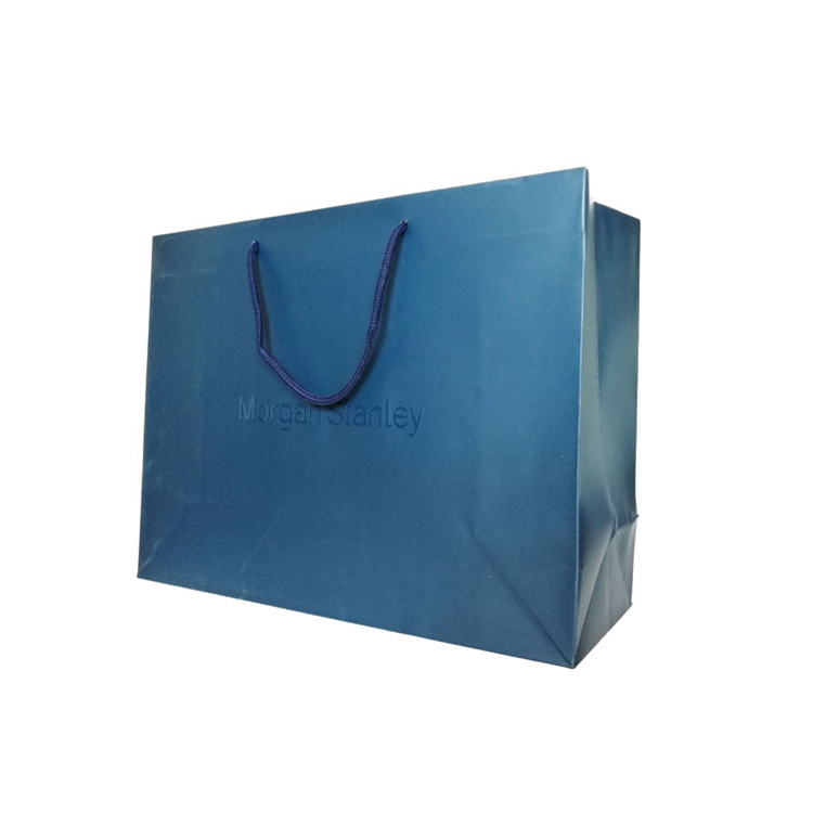 Wholesale custom design printing logo recycling carton kraft paper tote