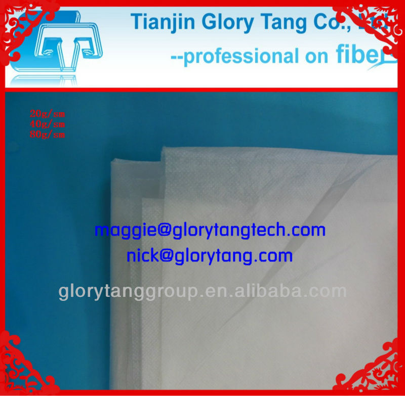 biodegradable pla nonwoven fiber fabric