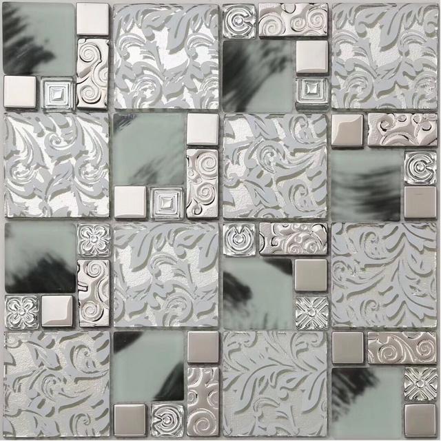 Broken Gl Mosaic Tile Le