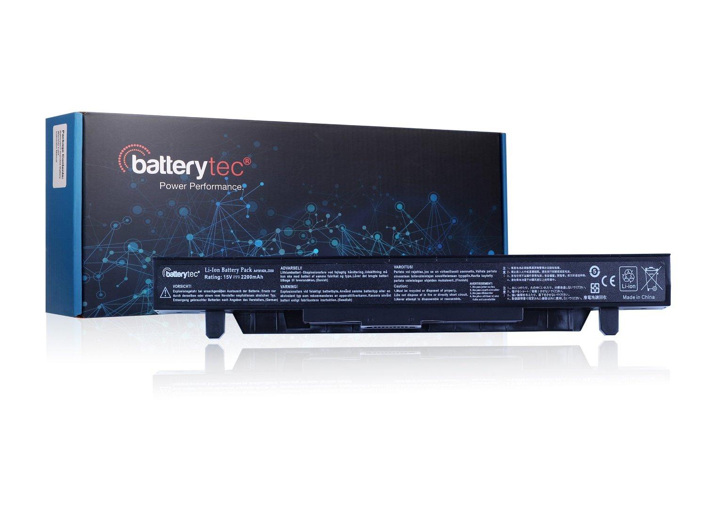 Batterytec® Battery for ASUS A41N1424, ASUS ROG GL552 GL552J GL552JX GL552V GL552VW Series, ASUS ROG ZX50, ROG ZX50J, ROG ZX50JX Series, ASUS ROG FX-PLUS Series. [15V 2200mAh, 12 Months Warranty]