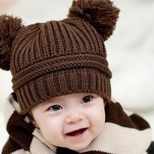 newborn baby photography props Cute Baby font b Kids b font Girl Boy Dual Balls Warm
