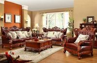 unique wooden living room sofa sets