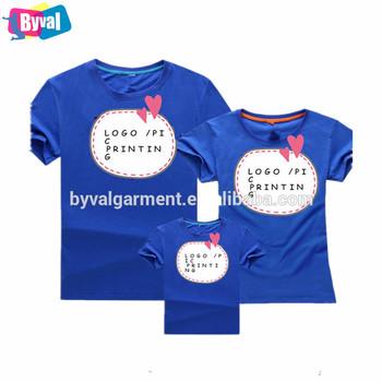 Impresión personalizada familia familia ropa padre-hijo camiseta 14d68a0822aab