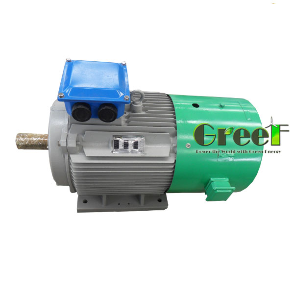 Low speed 5KW-250RPM three phase AC synchronous free energy magnetive motor for wind turbine