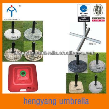Plastic Amp Stone Amp Steel Cross Umbrella Base Umbrella Base
