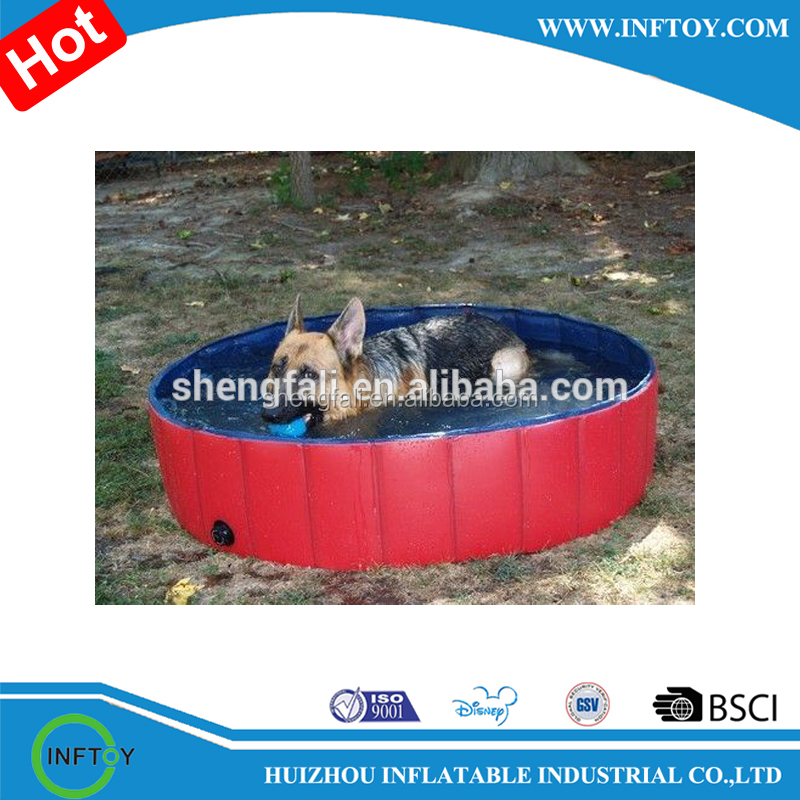 Wholesale Cheap Outdoor inflatable PVC Pet Swimming Pool for sale