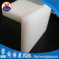 Stock white high glossy hdpe sheets