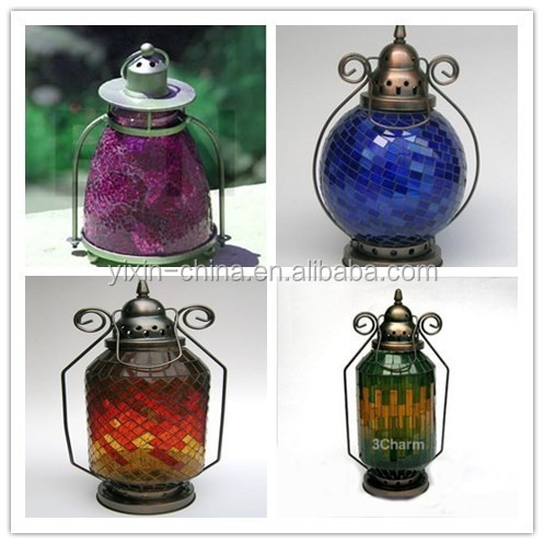 Outdoor Hanging Mosaic Lantern Candle Holders Supplieranufacturers At Alibaba