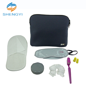 Slipper and eye mask for air men smoke travel airline amenity kit