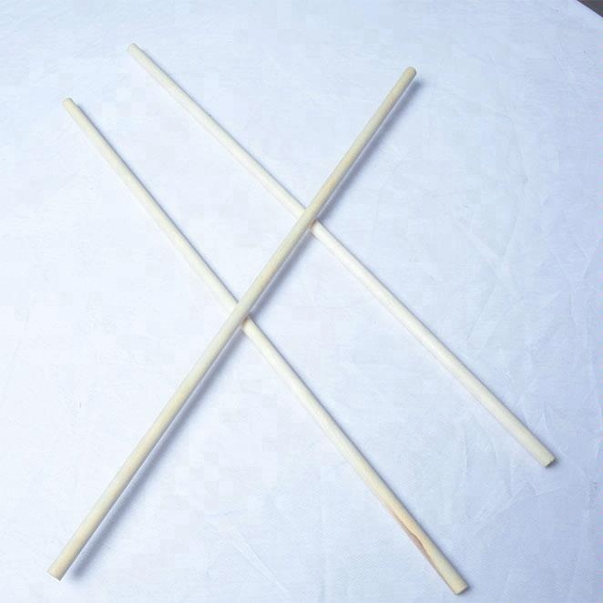 round birch wood threaded wood dowels wood circle dowel for furniture or table legs