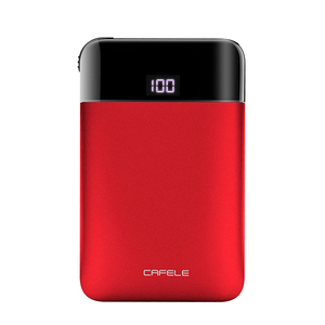 CAFELE Led Digital Portable Wallet Huge Capacity Power Bank 5200mAh 5V 2 Ports Mini Mobile Charger PowerBank