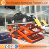 Hydraulic car scissor lift/heacy duty car elevator table used for garage