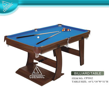5 Foot Stand Up Billiard Table