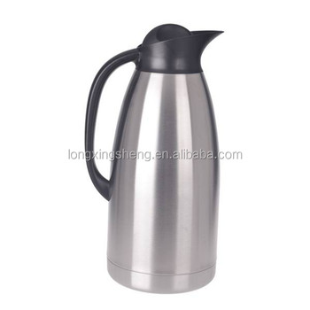 Keep Hot 24 Hours Stainless Steel Coffee Thermos Tea Pot