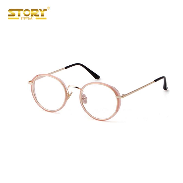 STORY round classes new fashion guangzhou optical frames wholesale factory eyeglasses фото