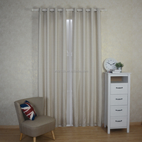 New arrival Modern Brief Style 100% Polyester Auspicious clouds Jacquard Curtain & Curtain fabric