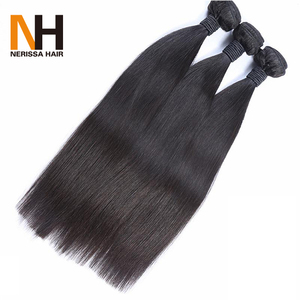Free Shipping Cheap Straight Remy Human Hair Weave Extension Hair Weft Bundles 100% Natural Indian Human Hair Price List