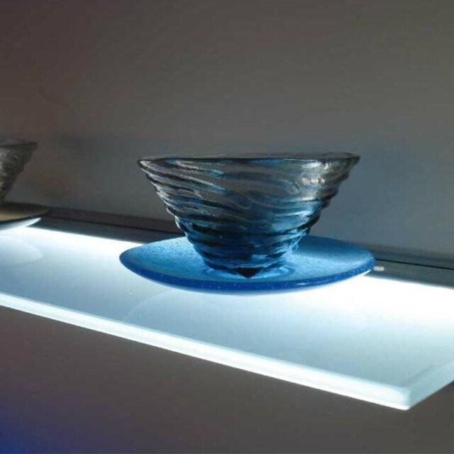 Led bagno mensola di vetro decorazione della barra luci - Barra led bagno ...