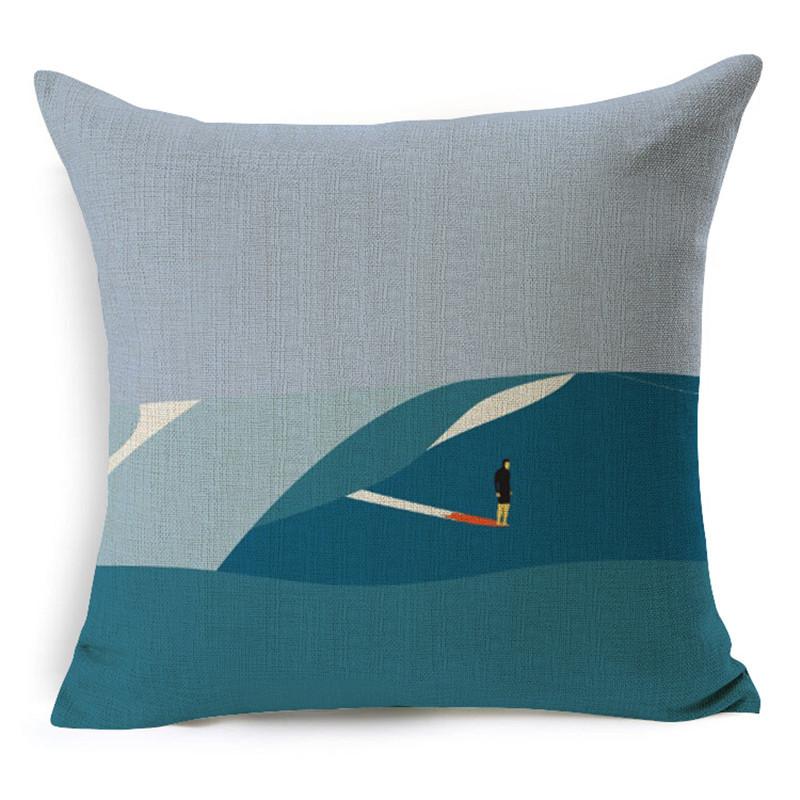 European Style <font><b>Hipster</b></font> hand printed super Decorative Sofa throw Cushion Car Pillow <font><b>home</b></font> <font><b>decor</b></font> for Retail