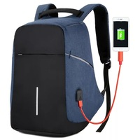 USB best sell bagpack men reflective bag waterproof smart anti-theft backpack laptop school anti theft backpack