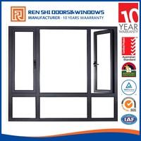 Industrial anti-noise casement beveled glass windows