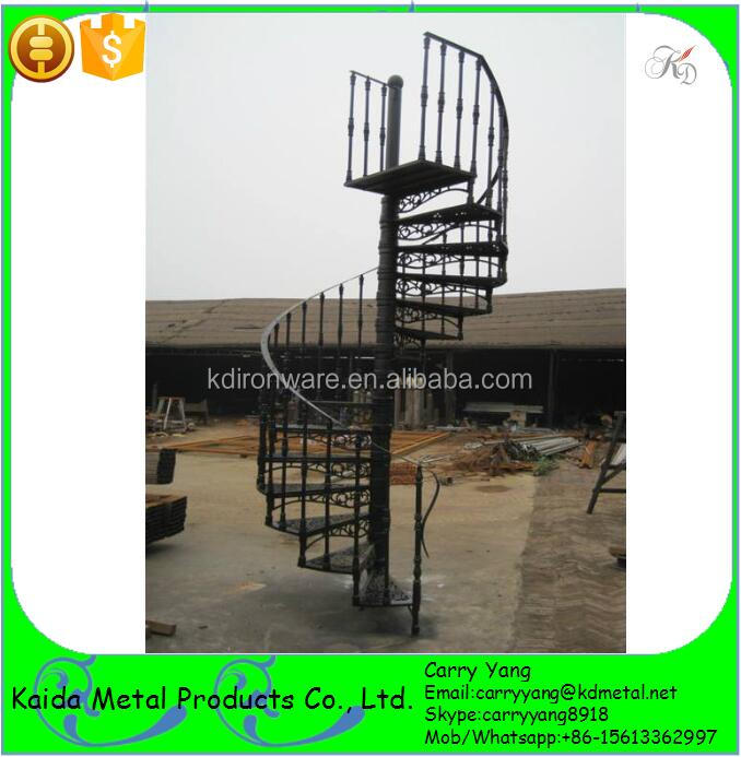 Decorative Modern Wrought iron Spiral Staircase Designs