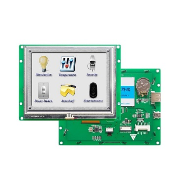 5.6 inch TFT LCD instrument panel with TTL interface for elevator
