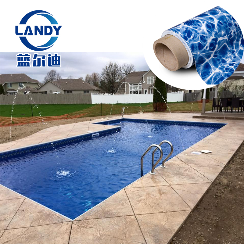 affordable building 16 by 32 inground pool with liner island NY order form pad