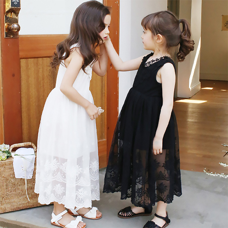 504e5fe50 2018 Summer Baby Girls Birthday Party Dress Toddler Baby Cotton ...