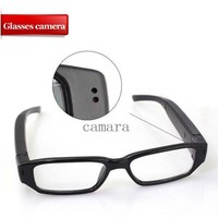 1080P digital video camera clear glasses video camera with color retail box